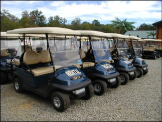 photo of golf cart rentals