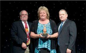 Tracy Czambel Jellystone's Operator of the Year Award