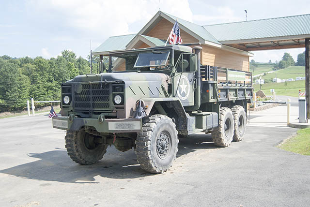 Military Transport Truck