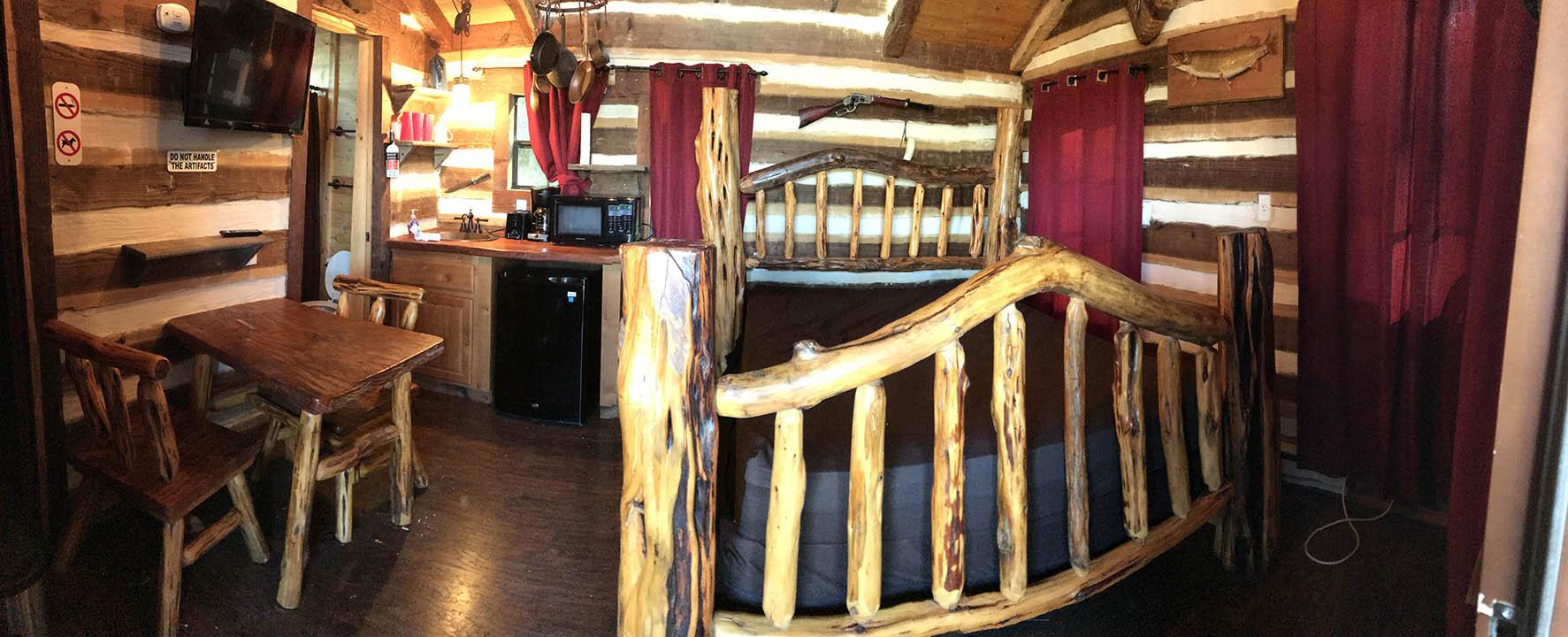 treehouse panoramic interior