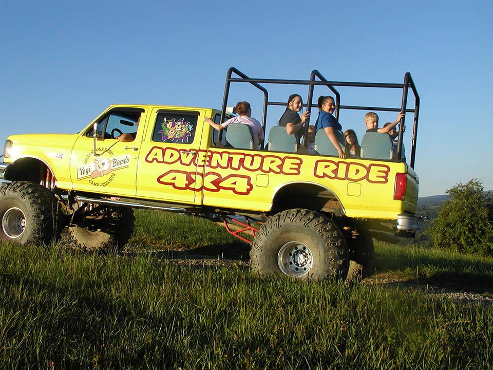4x4 adventure ride truck
